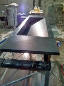 3cm Granite Trough Sink